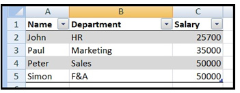 Vlookup in Microsoft Excel